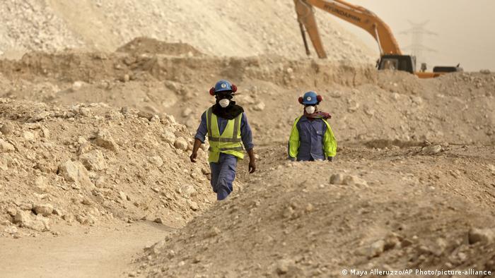 Arabische Gastarbeiter in den Golfstaaten   Katar