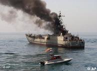 رزمایش دریایی ایران به عنوان یک تهدید در روزنامههای آلمان ارزیابی میشود