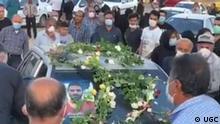 Iran Trauerfeier für Ringer Navid Afkari