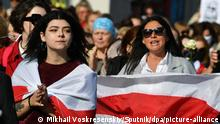 Belarus Frauen-Demo in Minsk