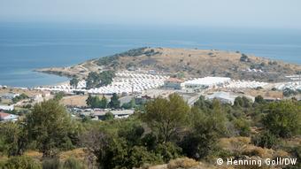 New Camp Karatepe in Lesvos