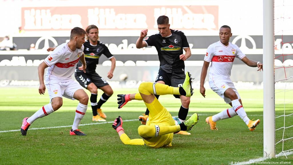 Bundesliga: Stuttgart learn hard lesson against Freiburg on top-flight  return   Sports  German football and major international sports news   DW    19.09.2020