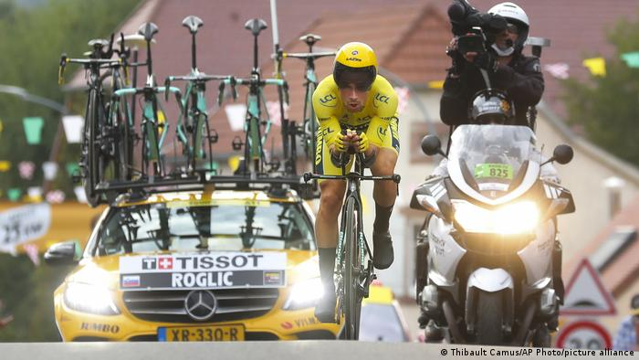 Tour de France 2020 - 20. Etappe | Primoz Roglic (Thibault Camus/AP Photo/picture alliance)