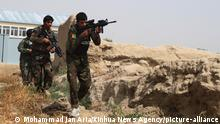 (190924) -- SHIBERGHAN, Sept. 24, 2019 (Xinhua) -- Afghan security force members take part in a military operation in Faizabad district of Jawzjan province, northern Afghanistan, Sept. 24, 2019. The Afghan National Defense and Security Forces (ANDSF) has beefed up security operations against militants recently as militants launched massive attacks against cities and districts across the country. (Photo by Mohammad Jan Aria/Xinhua) | Keine Weitergabe an Wiederverkäufer.
