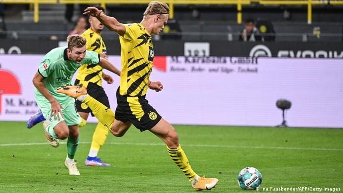 Erling Haaland convinced Jadon Sancho to let him take (and score) the penalty