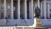 Washington: Das US-Finanzministerium - die Staatsschulden steigen