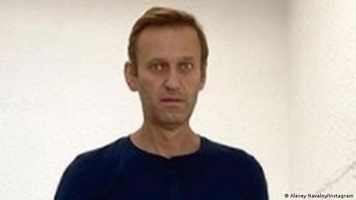 Алексей Навальный в берлинской клинике Шарите, фото из архива