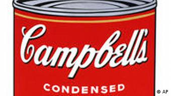 Andy Warhol: Campbell's soup II: Hot dog bean / Scotch broth