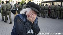 BdTD Belarus Minsk Proteste gegen Lukaschenko