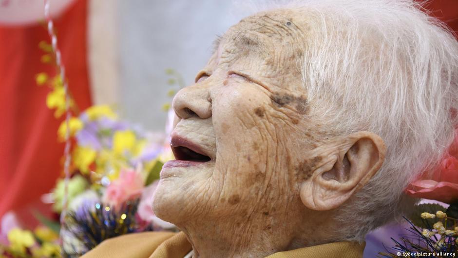 Bild des Tages: 117-Jährige hat gut lachen!