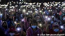 Thailand Bangkok Pro-Demokratie-Proteste (Lilian Suwanrumpha/AFP)