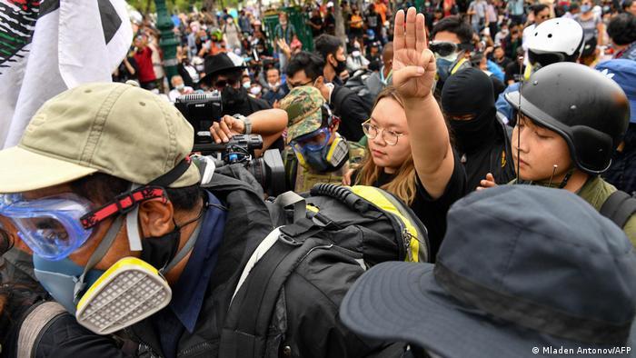 Thailand Bangkok Pro-Demokratie-Proteste