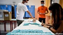 Italien Regionalwahlen | Mailand Wahlhelfer