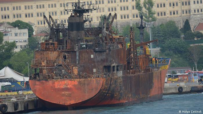 Milenyum Energy SA adlı şirkete ait gemilerden biri