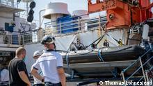 Italien Palermo | Inspektion auf Rettungsschiff Sea-Watch 4