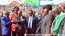Tansania Kigoma | Eveàriste Ndayishimiye im Gespräch mit John Pombe Magufuli