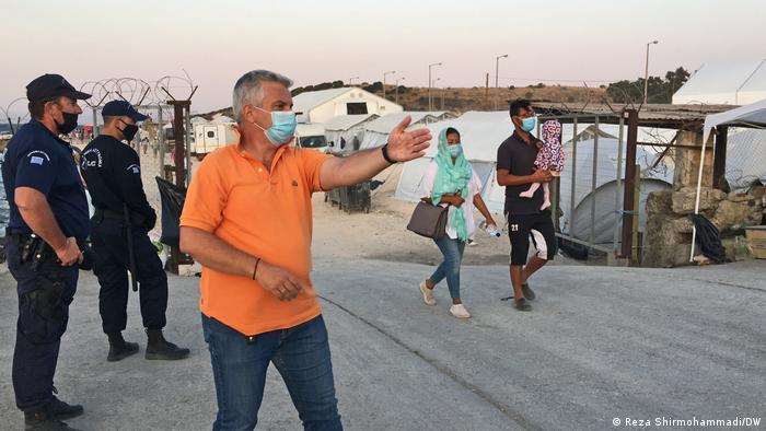 Lesbos: Nowy obóz dla uchodźców Kala Tepe