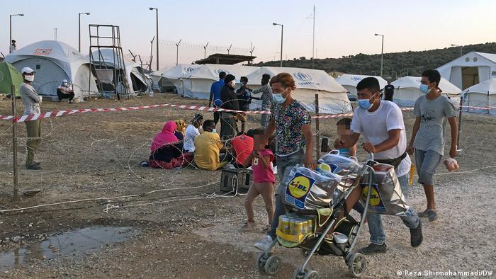 Lesbos: Nowy obóz dla uchodźców