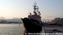 Italien | Rettungsschiff «Sea-Watch 4» in Palermo festgesetzt