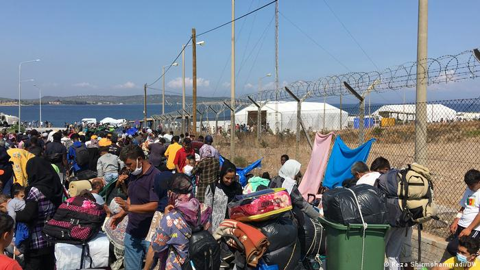 Izbjeglice na Lesbosu