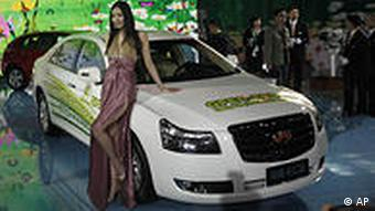 China Auto Show 2010 in Peking Geely GPEC EC8