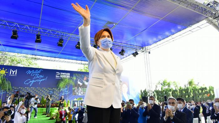 Türkei İYİ Partei Vorsitzende Meral Aksener (ANKA)