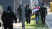 Weißrussland Minsk | Festnahmen während Protesten