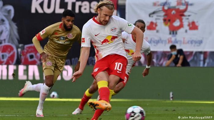 Fussball Bundesliga RB Leipzig vs. 1. FSV Mainz 05 (John Macdougall/AFP)