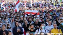 Weißrussland Minsk | Anti-Regierungsproteste