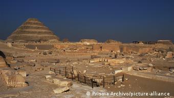 Ägypten Archäologischer Fund in Sakkara