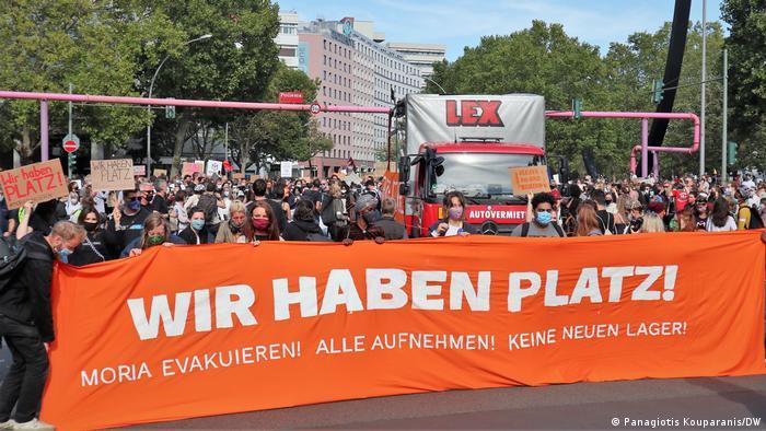 Deutschland Kundgebung von Pro Asyl