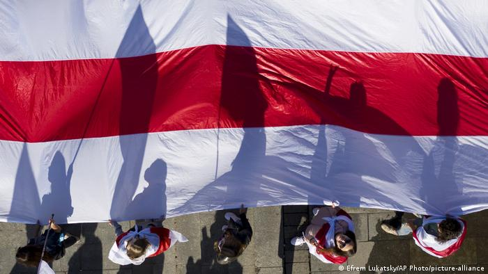 Акція на підтримку білорусів у Києві