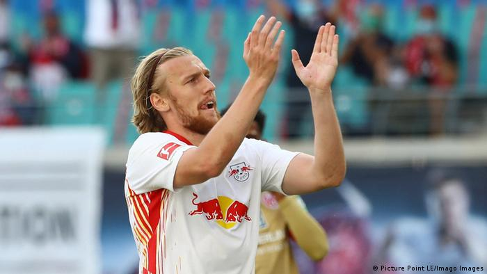 Fussball Bundesliga RB Leipzig vs. 1. FSV Mainz 05 | Emil Forsberg (Picture Point LE/Imago Images)