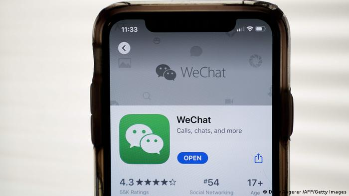 App Tiktok WeChat
