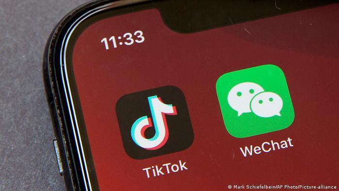 USA App Tiktok WeChat