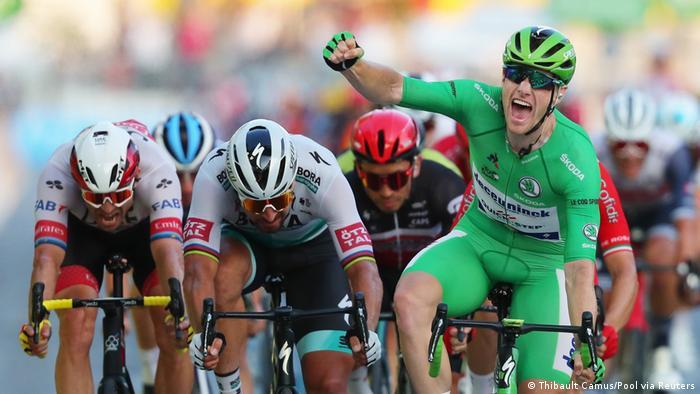 Tour de France 2020 - 21. Etappe - Sam Bennett aus Irland | Sieger (Thibault Camus/Pool via Reuters)