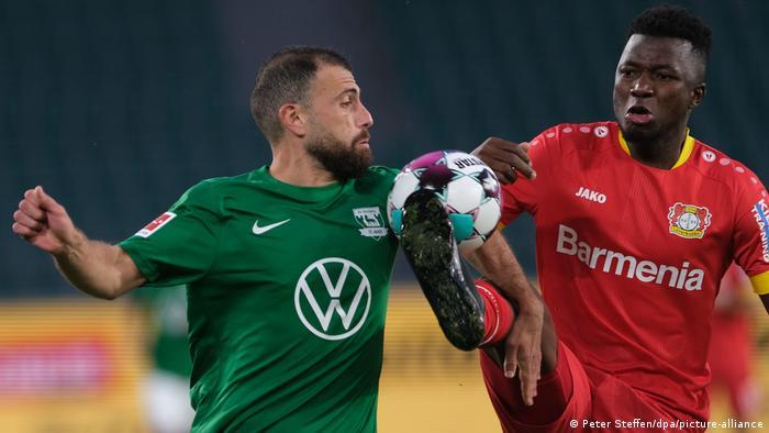 VfL Wolfsburg - Bayer Leverkusen (Peter Steffen/dpa/picture-alliance)