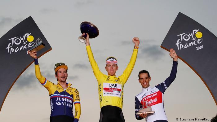 Tour de France 2020 - 21. Etappe Tadej Pogacar Sieger (Stephane Mahe/Reuters)