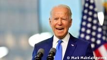 USA: US-Präsidentschaftskandidat Joe Biden in Philadelphia, Pennsylvania
