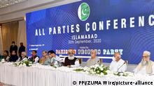 Pakistan: Parteiversammlung in Islamabad (PPI/ZUMA Wire/picture-alliance)