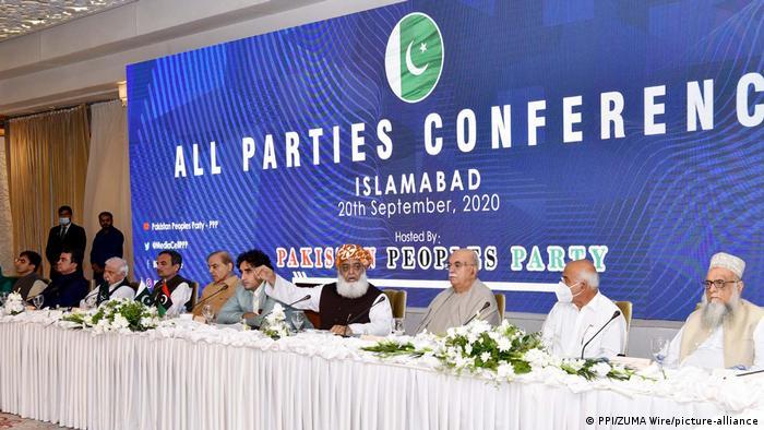 Pakistan: Parteiversammlung in Islamabad