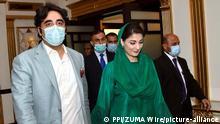 Pakistan: Parteiversammlung in Islamabad I Maryam Nawaz und Bilawal Bhutto Zardar