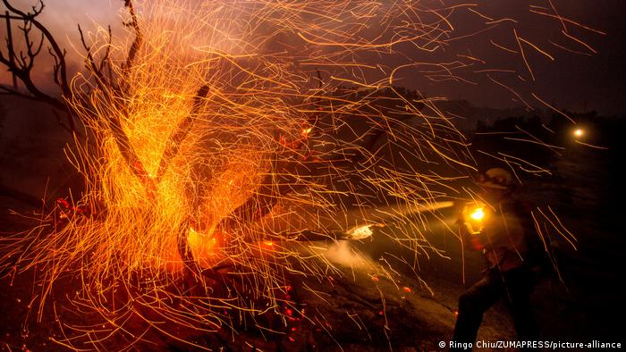USA I Kalifornien I Brände (Ringo Chiu/ZUMAPRESS/picture-alliance)