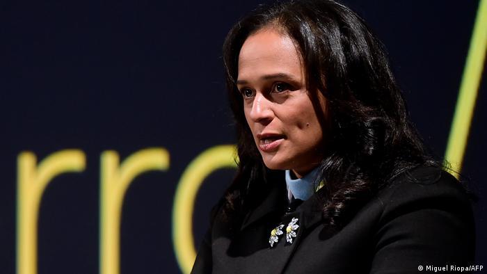 Unternehmerin Isabel dos Santos