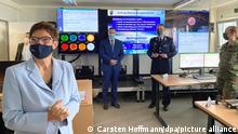 Deutschland ASOC Bundeswehr stellt Weltraumoperationszentrum in Dienst