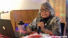 August 2020 Council member International People's Tribunal : Sri Tunruang in Indonesian Seminar via Ayu Purwaningsih