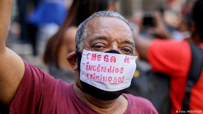 Aktion des Centro Gaspar Garcia de Direitos Humanos (CGG)