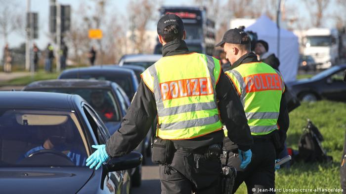 Frankreich Kehl | Deutsch-französische Grenze | Polizeikontrollen