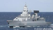 Italien Rom | Operation IRINI | FGS Hamburg (picture-alliance/dpa)