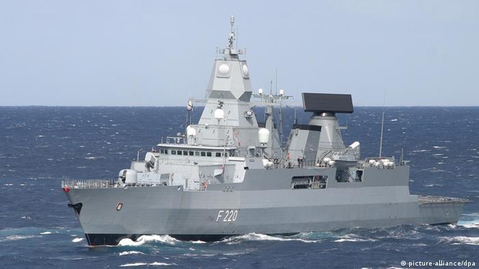 Italien Rom | Operation IRINI | FGS Hamburg (picture-alliance/dpa)